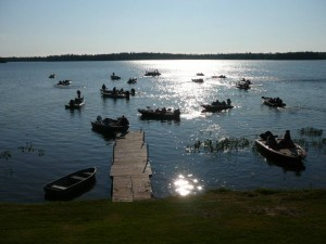 Attendees of the 1st Annual Angling for Alstrom Bass Tourney