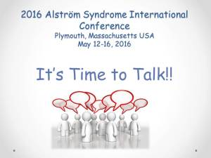 It's Time to Talk! At the 2016 ASI Conference in Plymouth, MA!
