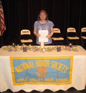 Amanda National Honor society