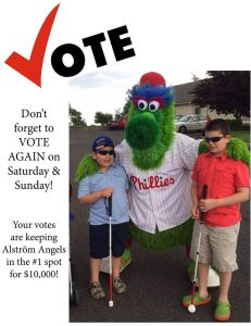Cast your daily vote for Alstrom Angels